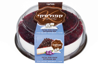 Kapulsky Mousse Cheesecake with Blueberry Topping